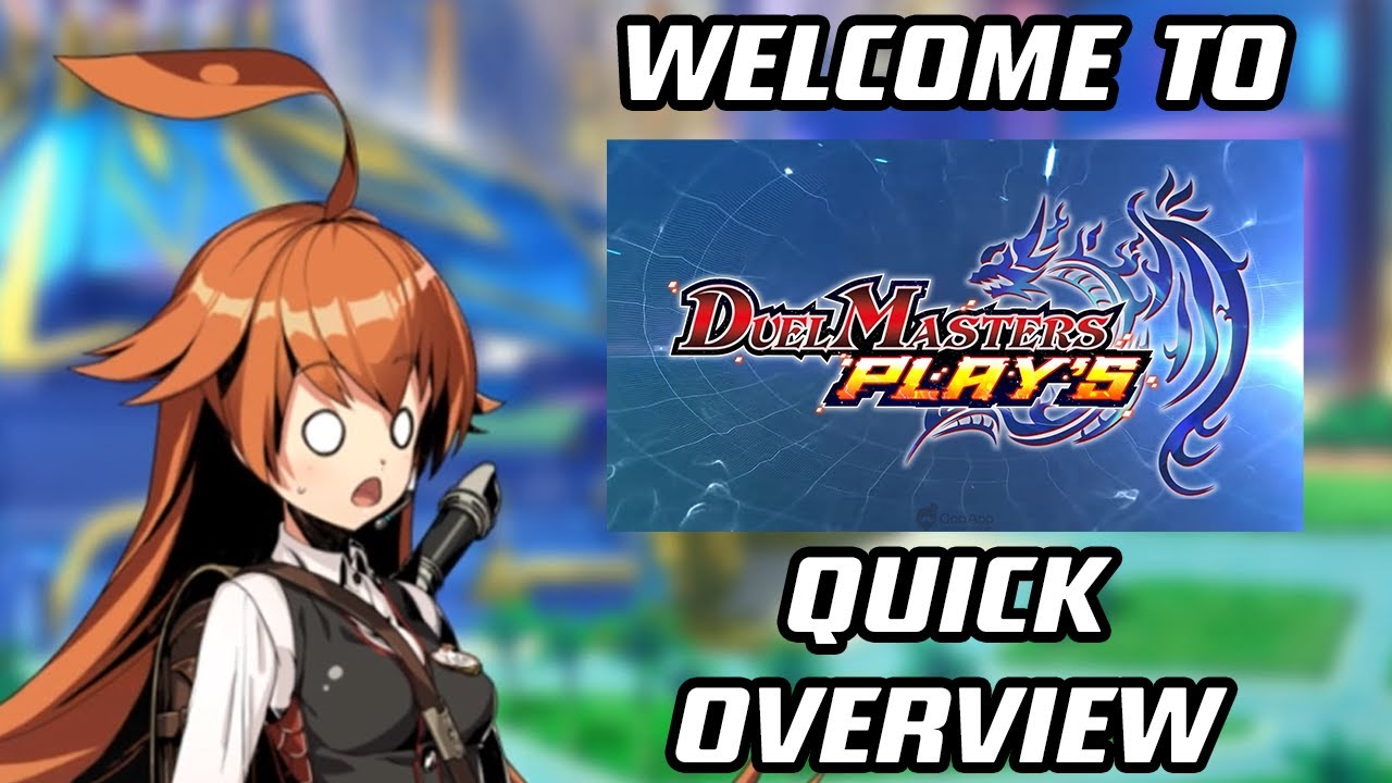 Welcome To Duel Masters Play S A Quick Overview Youtube
