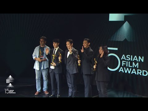 The 15th Asian Film Awards Ceremony
