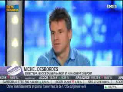 Michel Desbordes, directeur associé du MBA Marketing et Management du sport sur BFM Business