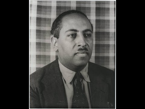 Arna Bontemps lecturing at UCLA 2/8/1966