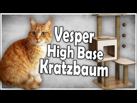 Nalas neuer Kratzbaum | Wie gut ist das Vesper Katzenmöbel