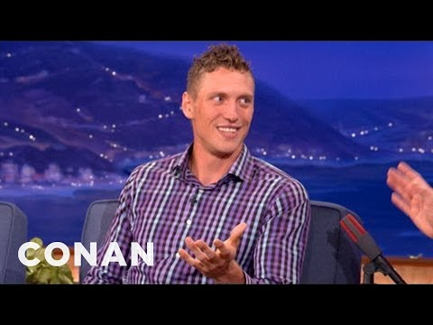 Hunter Pence [Hearts] Katy Perry - CONAN on TBS