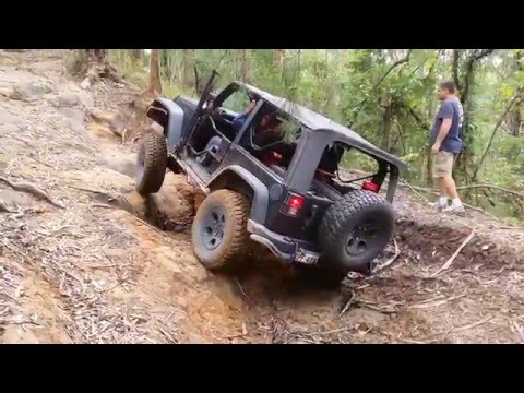 4x4 Challenge @ The Wishing Well Watagans