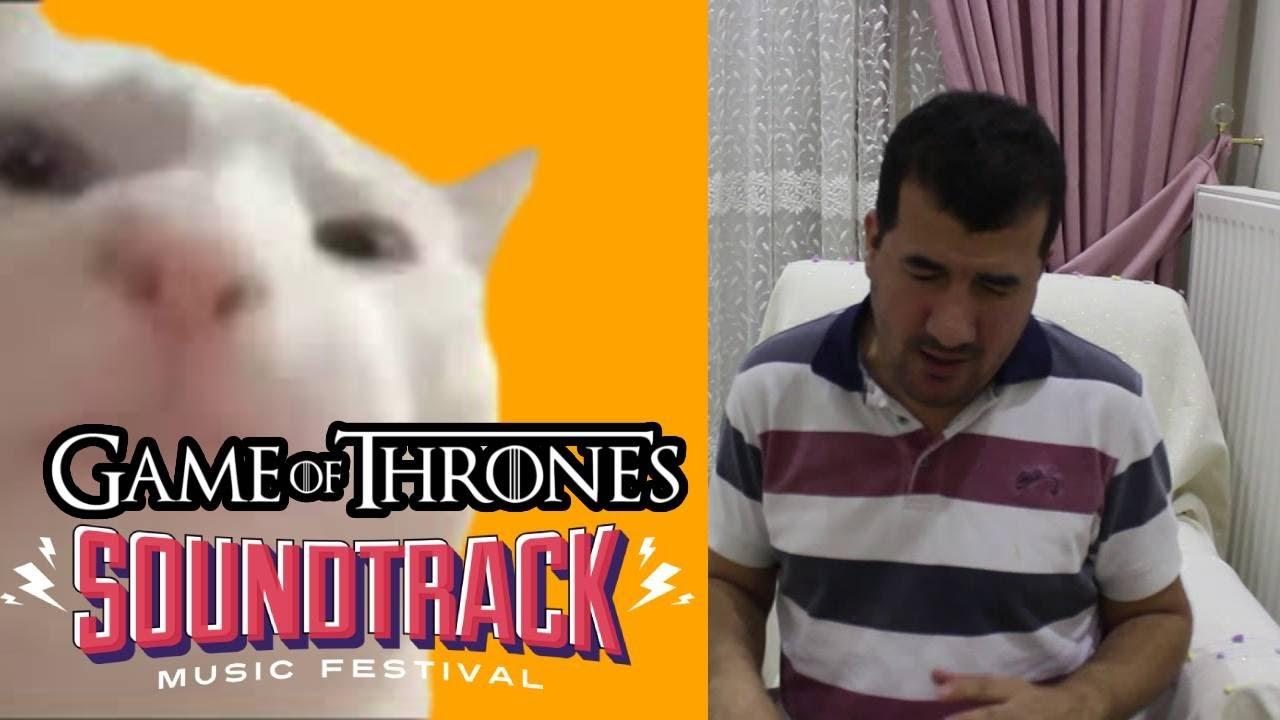 Cat Vibing Meme Game Of Thrones Version By Bilal Göregen [CatJam]