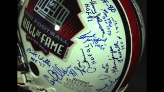 Auction: HOF Full-Size Authentic Helmet Signed by John Elway, Joe Namath, Ernie Stautner, Jim Otto