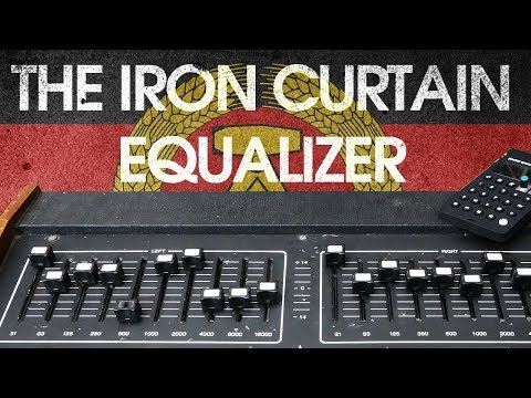Vermona E2010 Graphic Equalizer - A Studio Secret From Behind The Iron Curtain