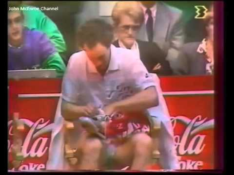Jacob Hlasek vs McEnroe Final -  Lyon 1989