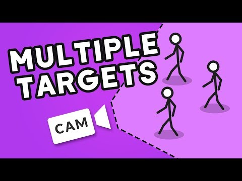 MULTIPLE TARGET CAMERA in Unity