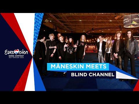 Rock 'N' Roll Never Dies - Måneskin ??  meets Blind Channel ??  - Eurovision 2021