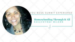 Homeschooling 2020 with Sheavoynne Wilson