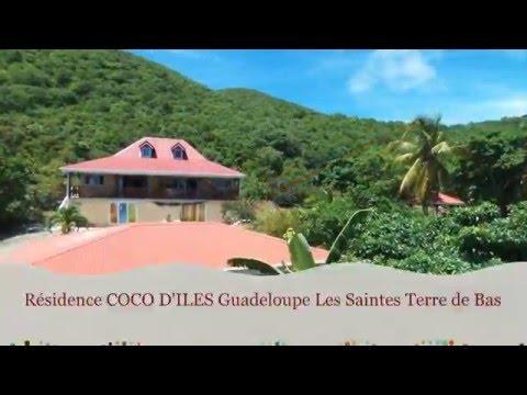 Résidence COCO D'ILES Les Saintes Terre de bas Guadeloupe