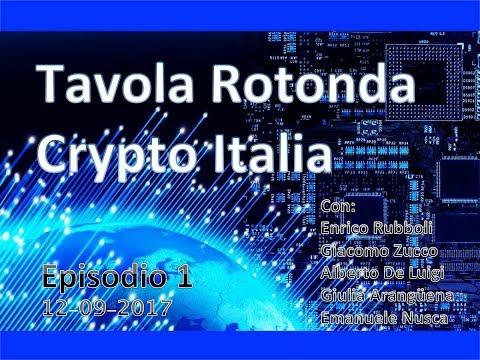 CRYPTO ITALIA TAVOLA ROTONDA - Ep. 1 - 12-09-2017