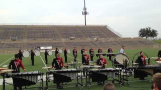 2013 Argyle Drumline at Plano Drumline Competition 9/28/13 - First Place!