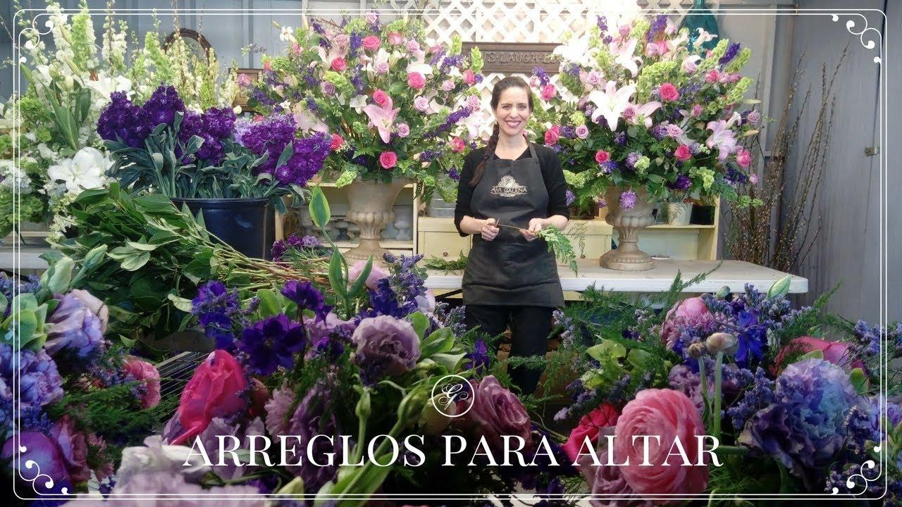 Como Hacer Arreglos De Flores Para Un Altar