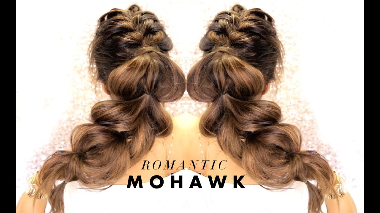 △ cutest mohawk braid you've ever seen! ☆ easy hairstyles for