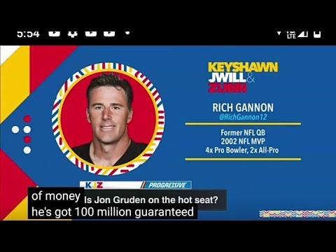 Las Vegas Raiders Former QB Rich Gannon Says Raiders Defense Needs To Step It Up By Eric Pangilinan