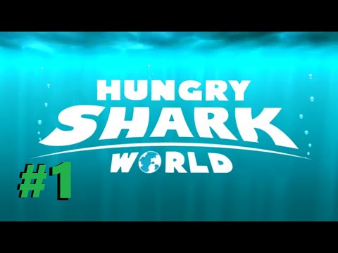 Hungry Shark World #1 | Small Sharks!