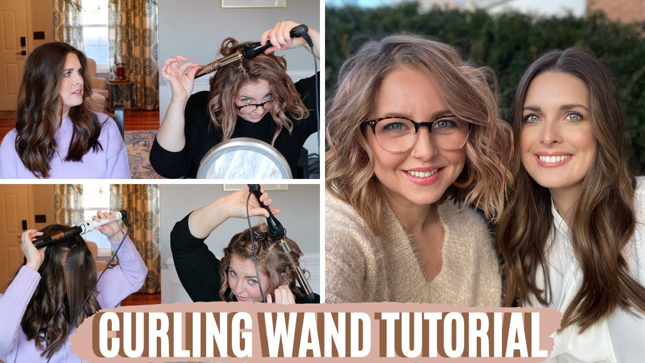 HOW TO CURL YOUR HAIR WITH A WAND || Easy Waves for Long & Short Hair