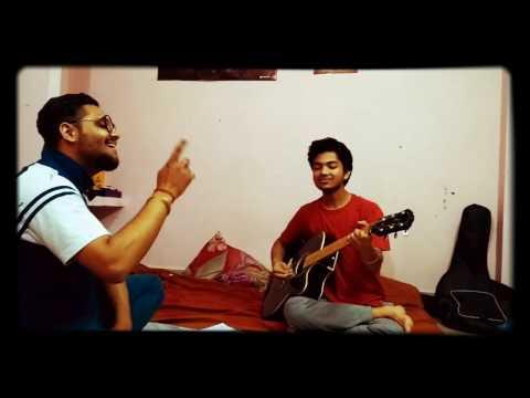 nagpuri on guitar  .( dear darling, cycle se aya,sari salwar,tor jens badi mast)