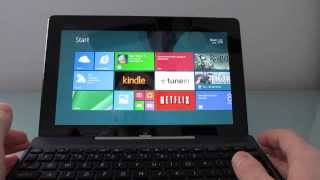 Repeat youtube video Asus Transformer Book T100 Bay Trail tablet/notebook review