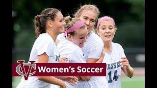 Vassar Women's Soccer Team Video 2018-2019