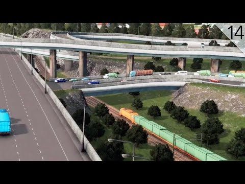 Cities: Skylines - Rail Expansion and Industrial Freight Terminal (City Build Episode 14)