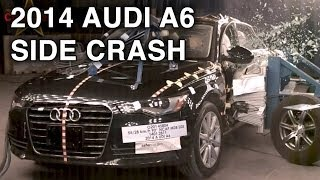2014 Audi A6 | Side Crash Test | CrashNet1