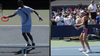 the common threads of the forehand volley