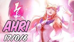FULL BURST AHRI MID | Build & Runes | Diamond Star Guardian Ahri | League of Legends