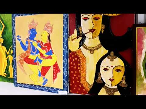 An Art Exhibition of More than 100 artists in Merchant Chamber Kanpur