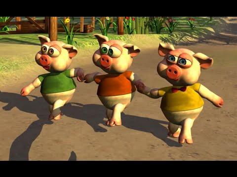 Os Três Porquinhos - A Fazenda do Zenão 1   O Reino das Crianças