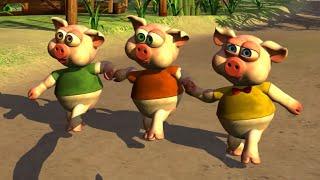Os Três Porquinhos - Músicas e Canções para Crianças