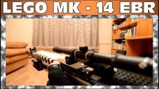 CALL OF DUTY MW - 2 | LEGO MK - 14 EBR | SEMI - AUTO | WORKING(United States Navy Mark 14 Enhanced Battle Rifle (Mk 14 Enhanced Battle Rifle или «улучшенная боевая винтовка») — американская марксманская..., 2015-02-23T14:48:14.000Z)