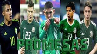 TOP 10 Jovenes PROMESAS Mexicanas 2018