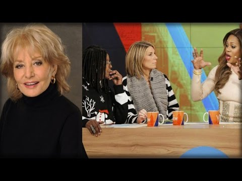 """REPORT: BARBARA WALTERS UNLOADS ON """"THE VIEW,"""" SHOW SHE CREATED """"RUINED… BY CHILD ACTORS"""""""