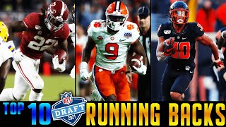 Top 10 Running Backs In The 2021 NFL Draft