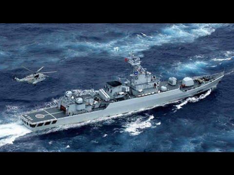 解放军屯兵西沙军演 不排除武力应对南海仲裁