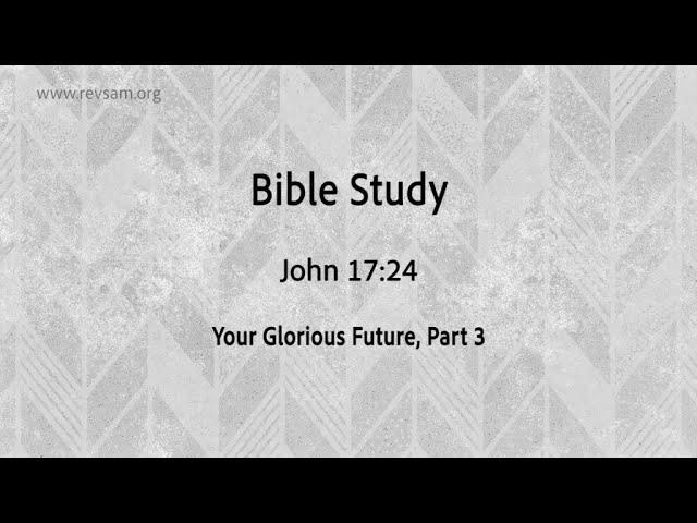 Your Glorious Future (Part-3) | Jeevan Chelladurai | Tuesday Service | AFT Church | 24-Nov-2020