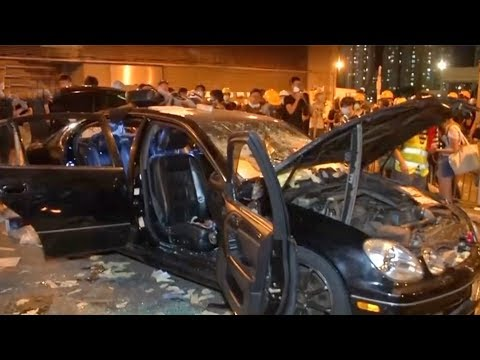 Hong Kong government condemns the violent protest in Yuen Long