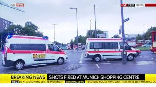 Latest Pictures: Munich Shopping Centre Shooting