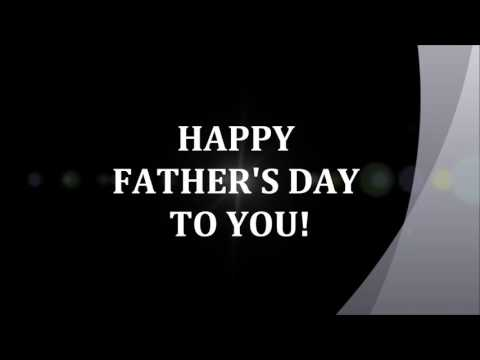 HAPPY FATHER'S DAY ecards Greeting ECard song songs poem lyric like Happy Birthday to you free
