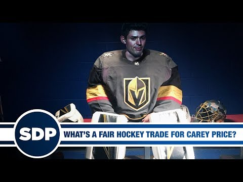 What's a Fair Hockey Trade for Carey Price?   The Steve Dangle Podcast