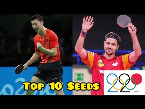 Download Top 10 Seeds of Men Singles in the Olympics 2020 and their best points so far