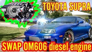 Om606 Turbo Swap