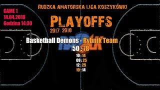 Baixar Basketball Demons - Rybnik Team 50:78  (RALK Playoffs 2018)