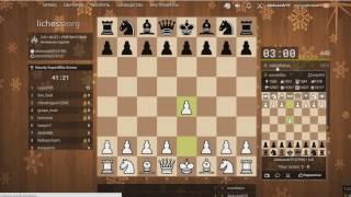 Катка на lichess.org#38 Шахматы 28.12.2016