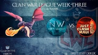Clash of Clans | CWL WEEK 3 NW vs JCM
