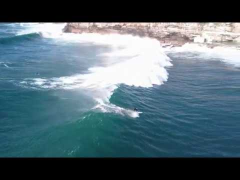 Surfing Bronte bombs