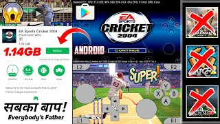 🔥[1GB] EA Cricket 2004   Official Game in Android   Damon PS2 Pro Emulator Gameplay   In Hindi