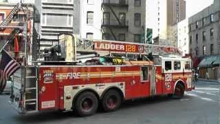 visit new york city fire department Engine 54-Ladder 4/128-Battalion 9 Part  PART 4